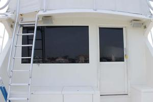 57' Viking Convertible 1989 Bulkhead