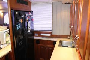 57' Viking Convertible 1989 Galley Refrigerator