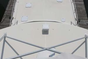 57' Viking Convertible 1989 Foredeck from Tower