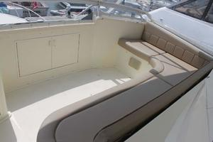 57' Viking Convertible 1989 Bridge Seating
