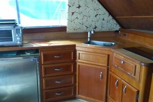 37' Egg Harbor 37 Convertible 1985 Galley
