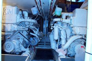57' Trumpy CPMY 1960 Engine Room