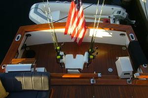 57' Trumpy Cpmy 1960 Cockpit