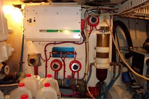 57' Trumpy Cpmy 1960 Port Engine Room
