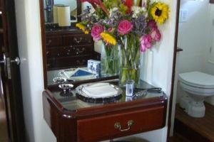 57' Trumpy Cpmy 1960 MSR Vanity Desk