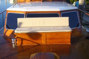 57' Trumpy Cpmy 1960 Foredeck Seating