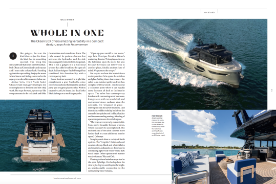 Okean 50 X - BOAT US edition Article