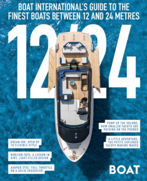 COVER: Okean 50 X - 1224 Boat International Supplement