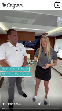 WATCH IGTV VIDEO - 2018 Astondoa 80u2019