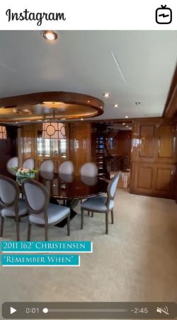 Watch IGTV Video - 2011 Christensen 162' Motor Yacht - Remember When