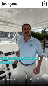 Watch IGTV Video u2013 2008 Intrepid 350 Walkaround - Sirenuse