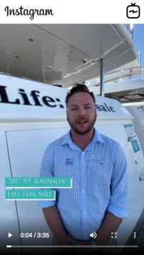 WATCH IGTV VIDEO - 2017 Johnson 93u2019 Motor Yacht - Life For Sale