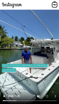 WATCH IGTV VIDEO - 2012 Brooks 32' Custom Carolina - Skipjack