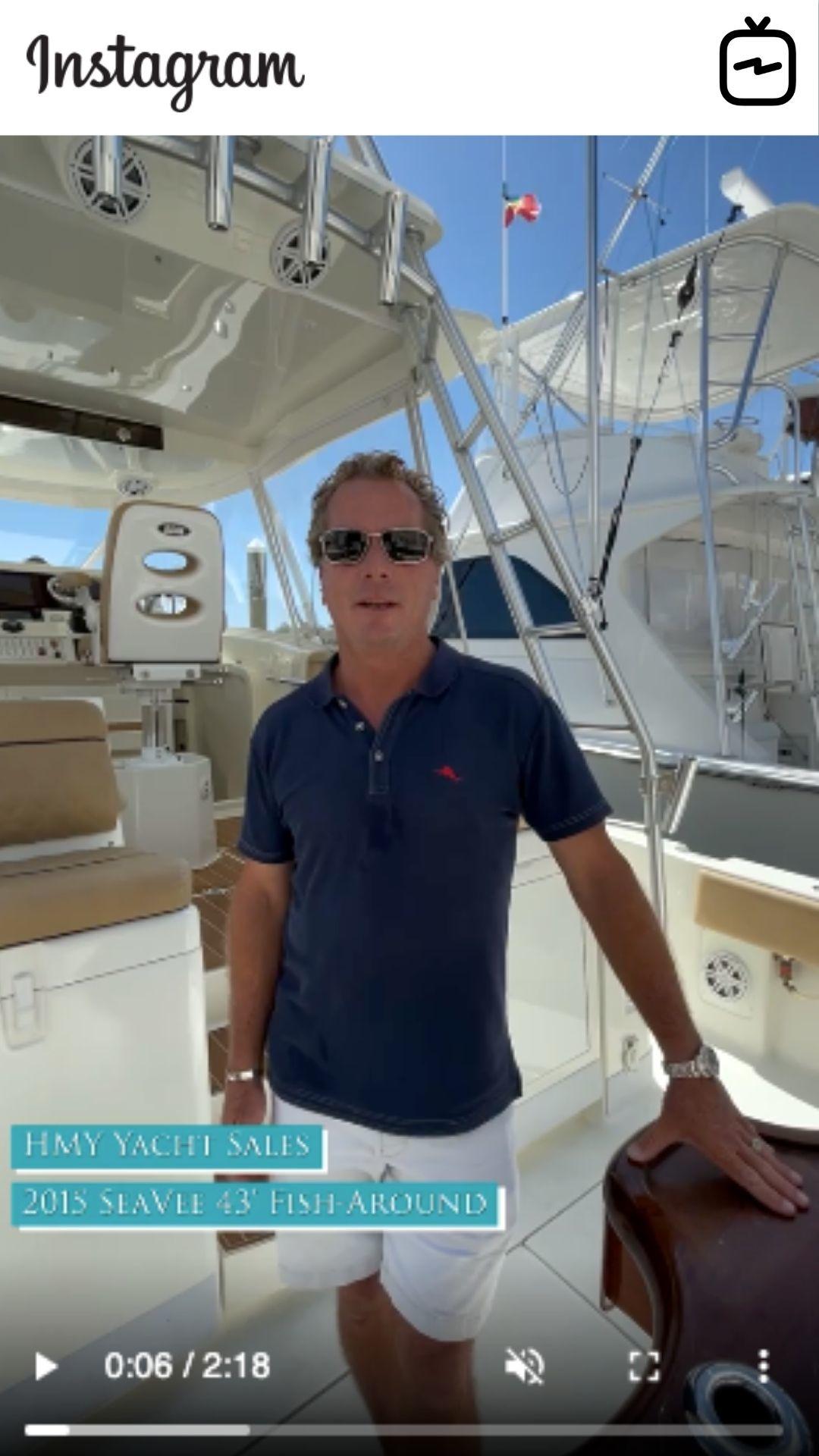 WATCH IGTV VIDEO - 2015 SeaVee 430 Fish-Around - Exit Strategy