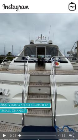 Watch IGTV Video - 2002 Princess Viking - Small Change