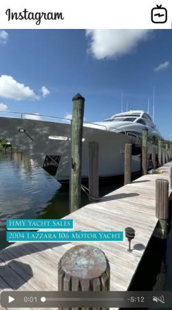 WATCH IGTV VIDEO 2004 Lazzara 106 Motor Yacht Passion