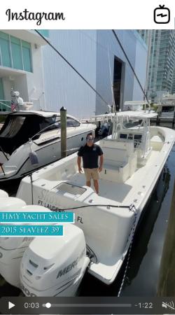 WATCH IGTV VIDEO 2015 SeaVee 390Z Showtime