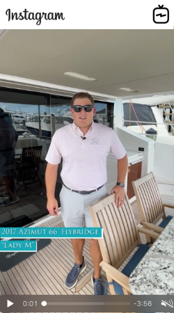 Watch IGTV Video 2017 Azimut 66 Flybridge - Lady M