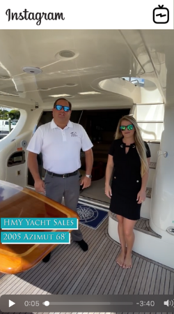Watch IGTV Video 2005 Azimut 68 Forever