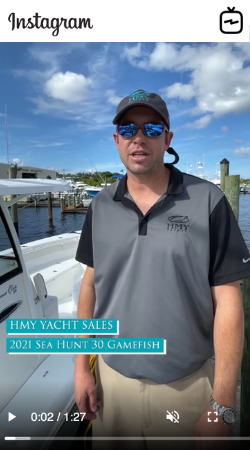 Watch IGTV Video 2021 Sea Hunt 30 Gamefish