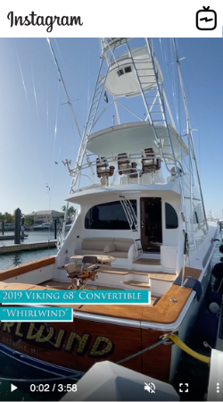 Watch IGTV Video 2019 Viking 68 Convertible - Whirlwind