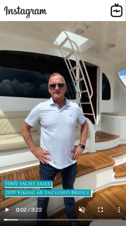 Watch IGTV Video 2019 Viking 68 Enclosed Bridge - Wae Fun