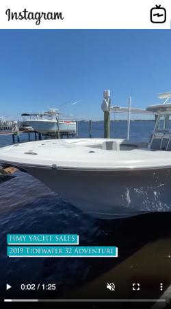 Watch IGTV Video - 2019 Tidewater 32 Adventure